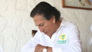 ALEJANDRO TOLEDO CANDIDATO PRESIDENCIAL POR EL PARTIDO PERU POSIBLE, ELECCIONES 2016